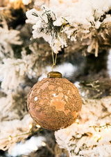 Peach Bead Ornament