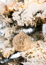 Blush Feather Ornament