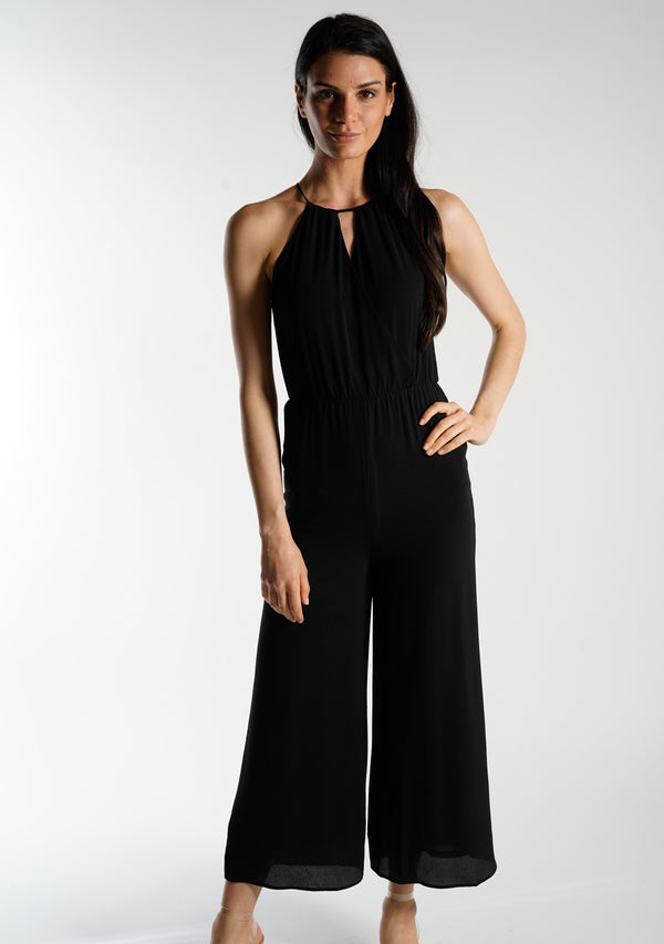Wide Leg Tunic Jumpsuit
