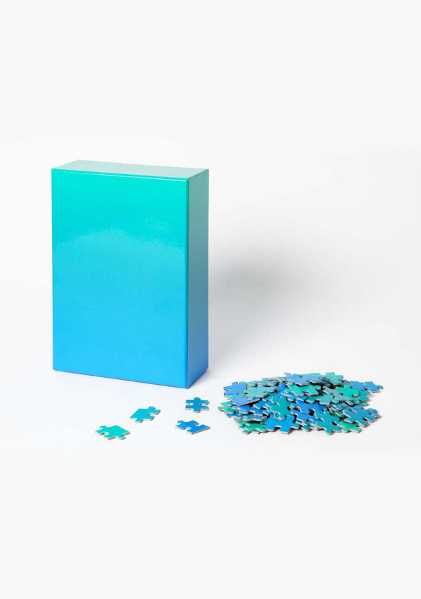 Gradient Puzzle Blue/Green