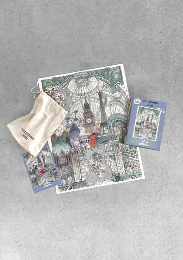 London Paris Brussels Puzzle
