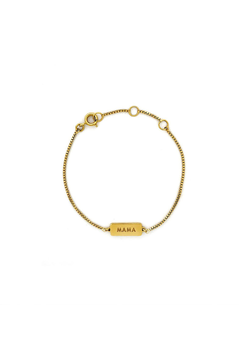 Little Mama Bracelet Gold Plated