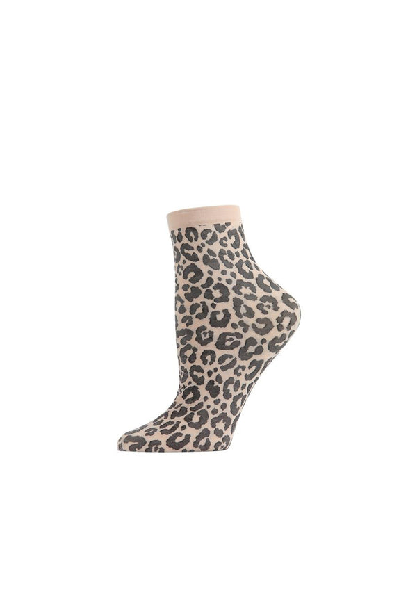 Classic Leopard Ankle Socks