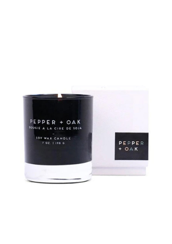 Candle Pepper + Oak