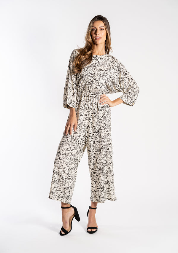 Nm Sula 3/4 Sleeve Jumpsuit