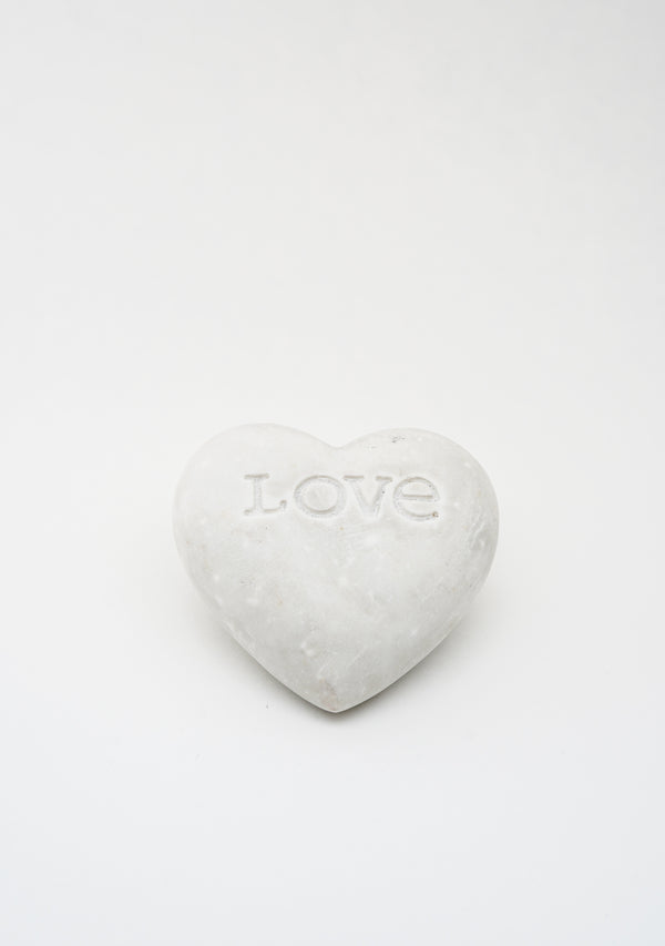 Love Engraved Soapstone Heart