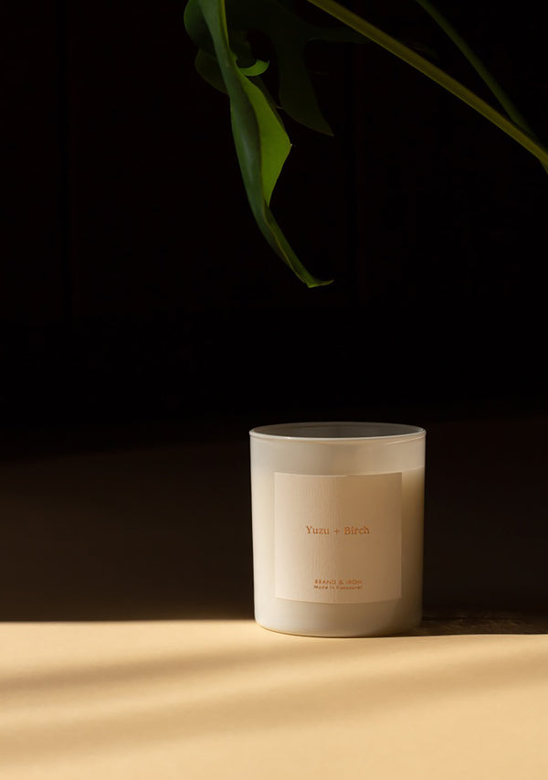 Home Series Candle Yuzu & Birch