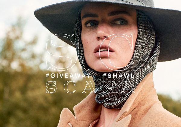 SCAPA SHAWL GIVEAWAY