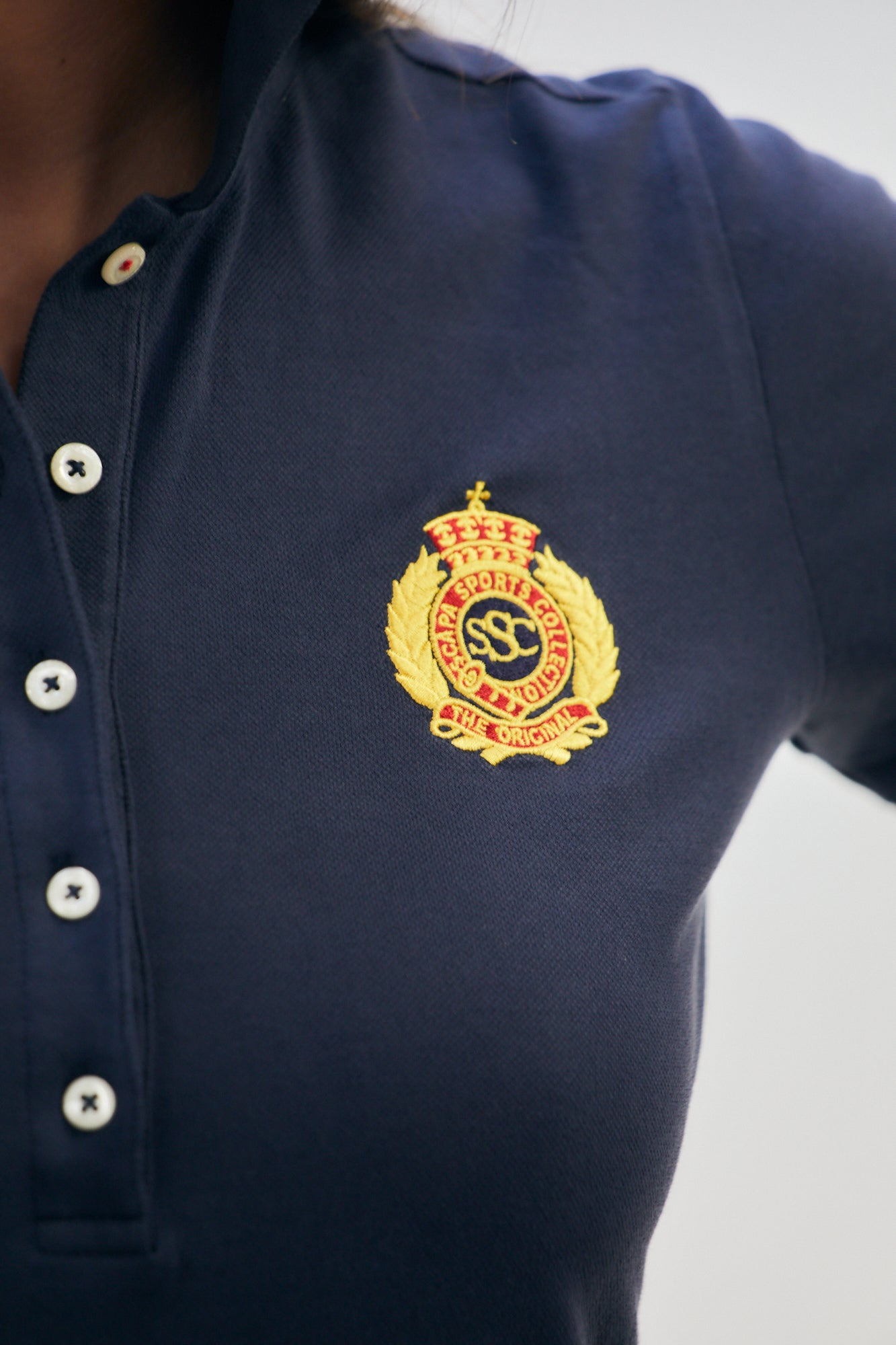 POLO SHIRT HALLY TEAM - Shirts - SCAPA FASHION - SCAPA OFFICIAL