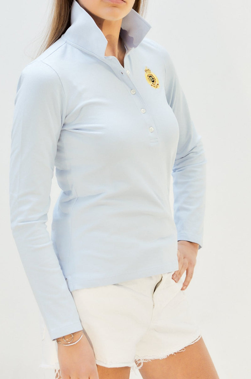 POLO SHIRT HALLY (LONG SLEEVES) - Shirts - SCAPA FASHION - SCAPA OFFICIAL