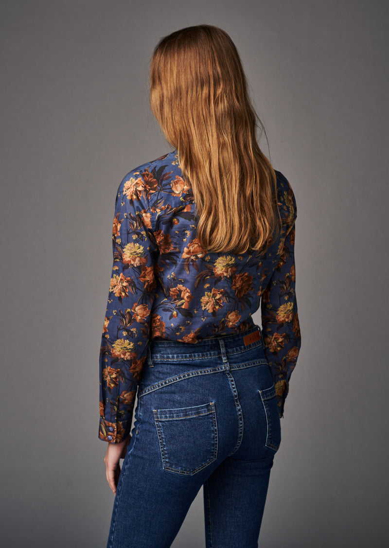 BLOUSE HELINA FLOWERS - Shirts - SCAPA FASHION - SCAPA OFFICIAL