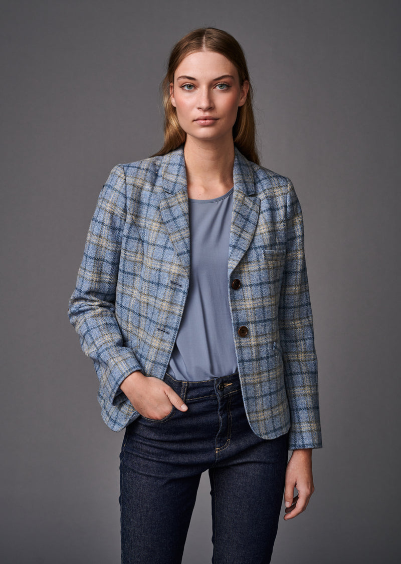 JACKET BOSTON BLUE - Jackets - SCAPA FASHION - SCAPA OFFICIAL