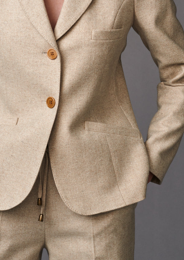 JACKET BOSTON BEIGE - Jackets - SCAPA FASHION - SCAPA OFFICIAL