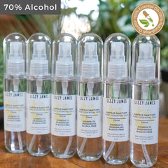 2 oz 6 pack Surface Sanitizer Sprays - Citrus Essential Oils