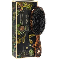 Fan Palm Hair Brush medium - Turtle