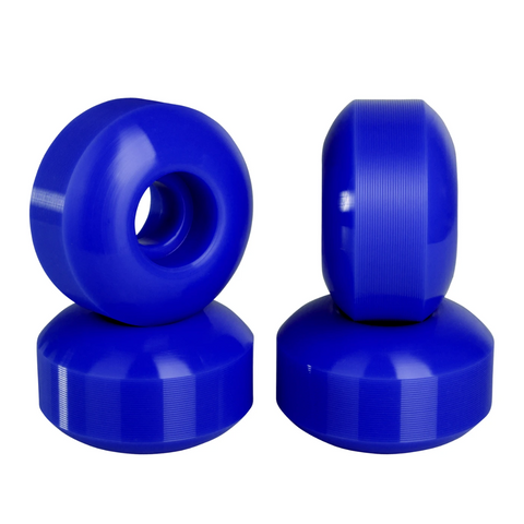 Blank Skateboard Wheels Blue