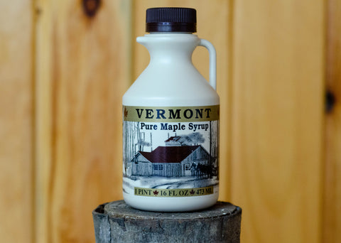 Pure Vermont Maple Syrup 1 Pint