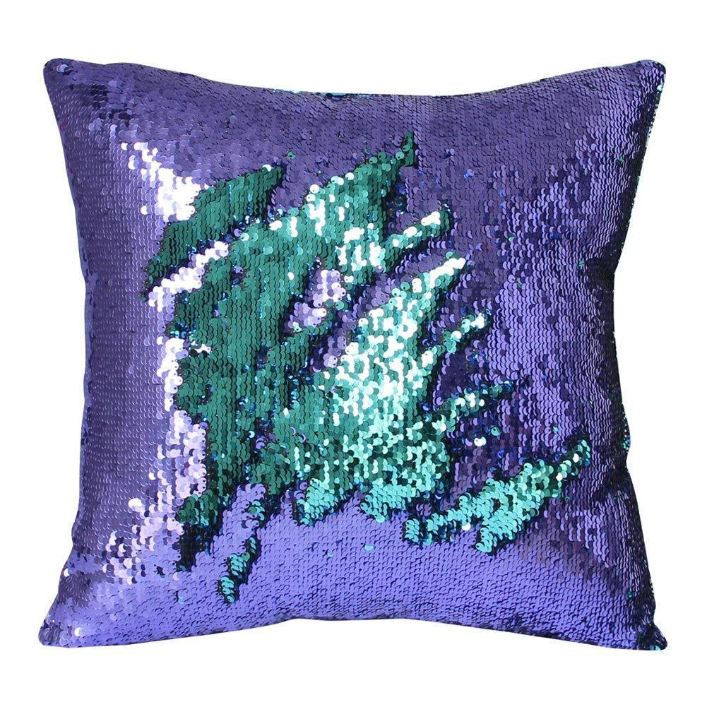 BUY TWO GET EXTRA ONE FREE | Magic Reversible Sequin Pillow Cover Throw Cushion Case