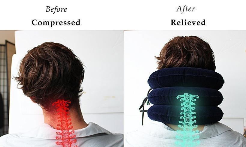NECK TRACTION PILLOW - Molyes Store