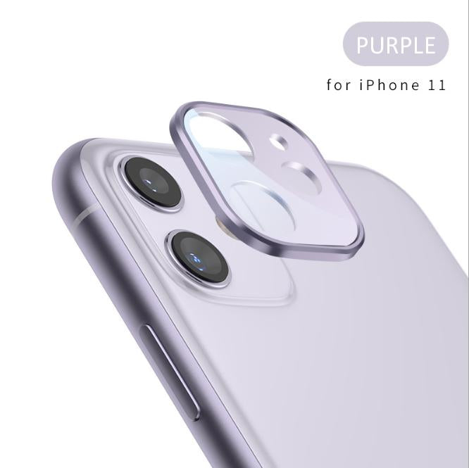 📱New iphone11 3D Tempered Glass Camera Lens Screen Protector