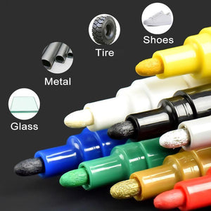 [Last day promotion][Set of TWO]Waterproof,non-toxic,permanent Tire Paint Pen