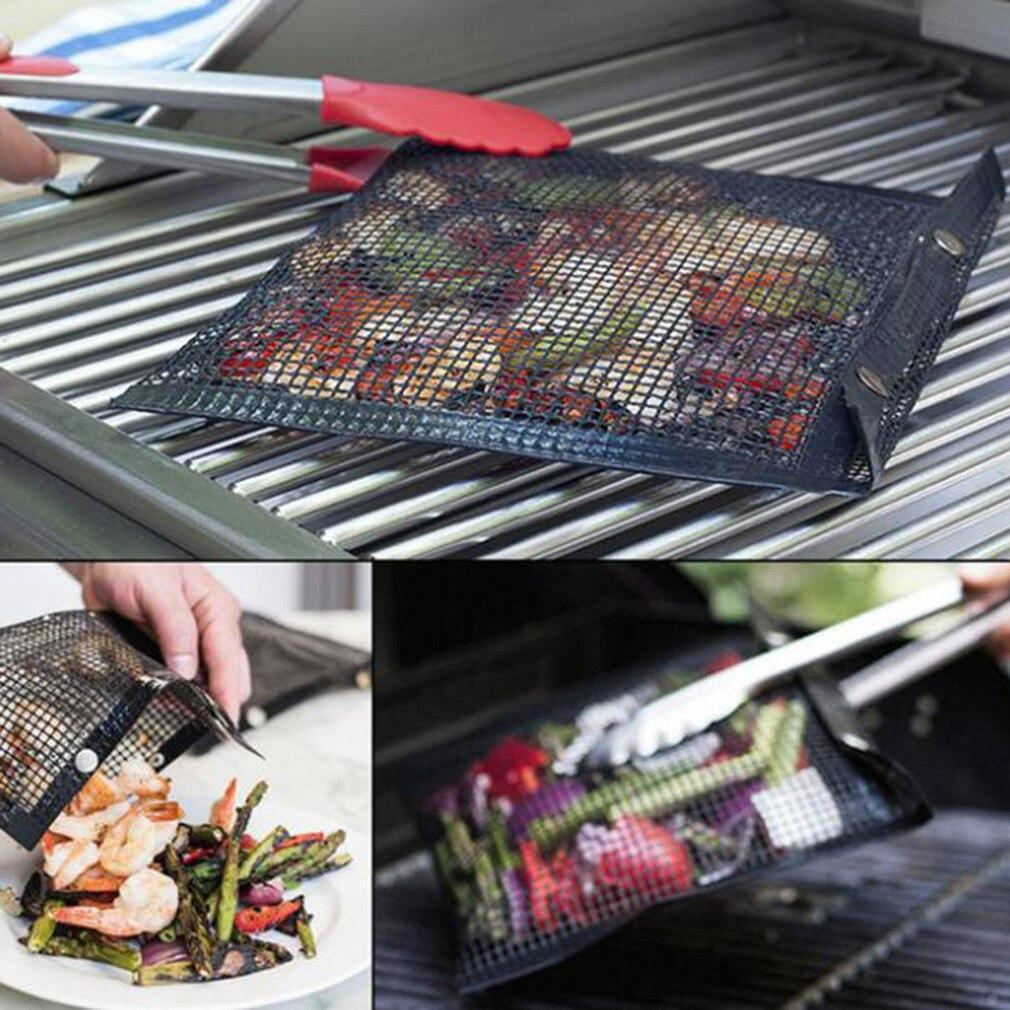(Last Week Promotion)Reusable Non-Stick BBQ Mesh Grill Bags