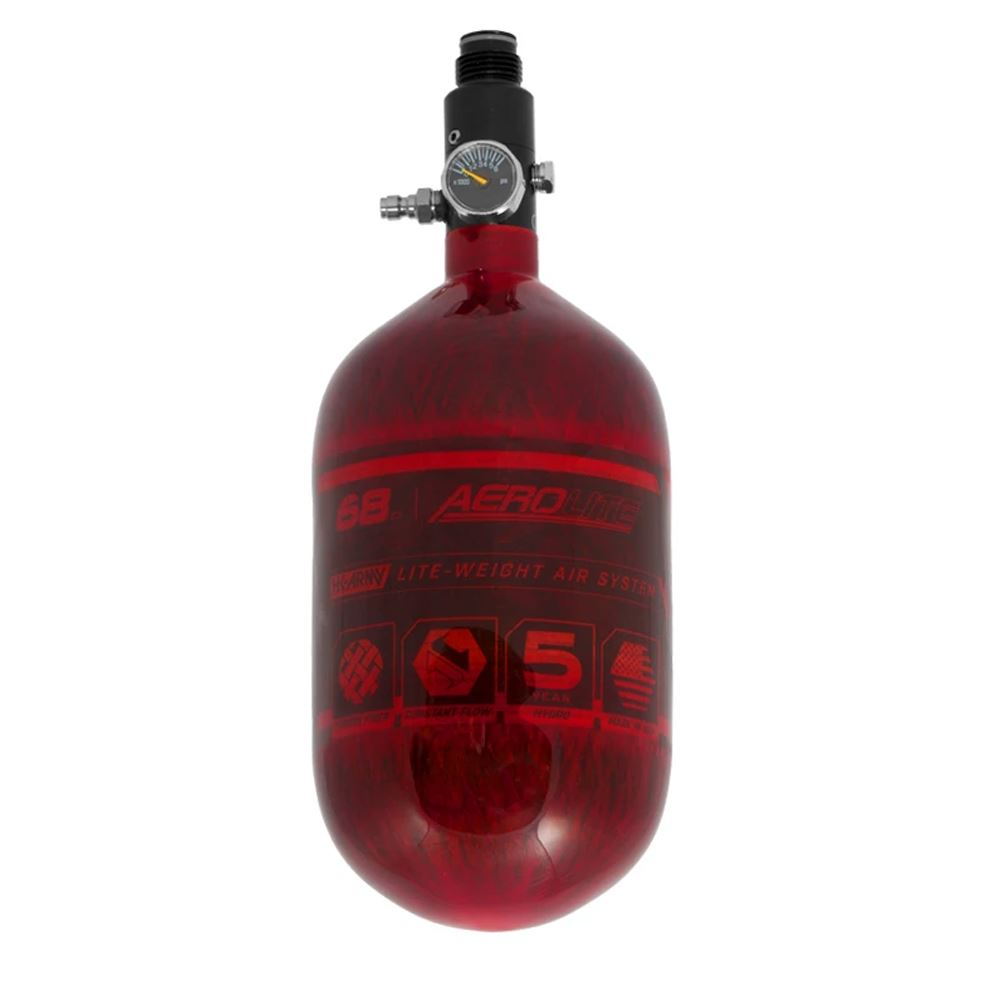 HK Army 68/4500 AEROLITE HPA Compressed Air Tank System - Red