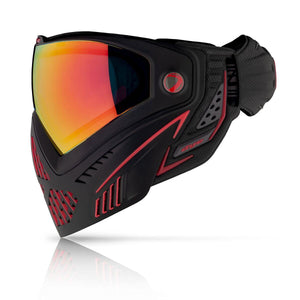 Dye i5 Paintball Goggles - Fire 2.0 - Black / Red