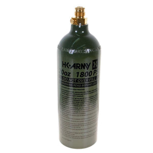 HK Army 20oz Aluminum CO2 Paintball Tank - Olive