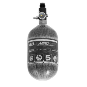 HK Army 68/4500 AEROLITE HPA Compressed Air Tank System - Clear