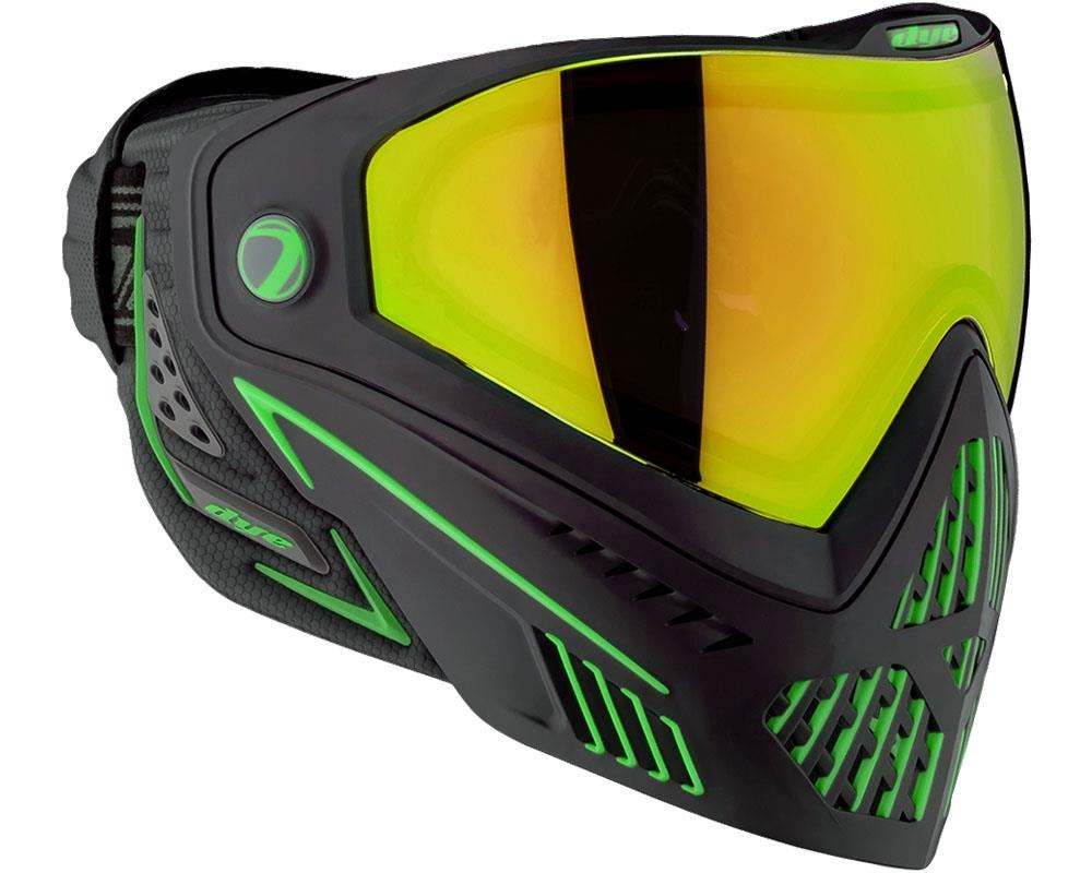Dye i5 Thermal Paintball Goggles - Emerald 2.0 - Black / Lime