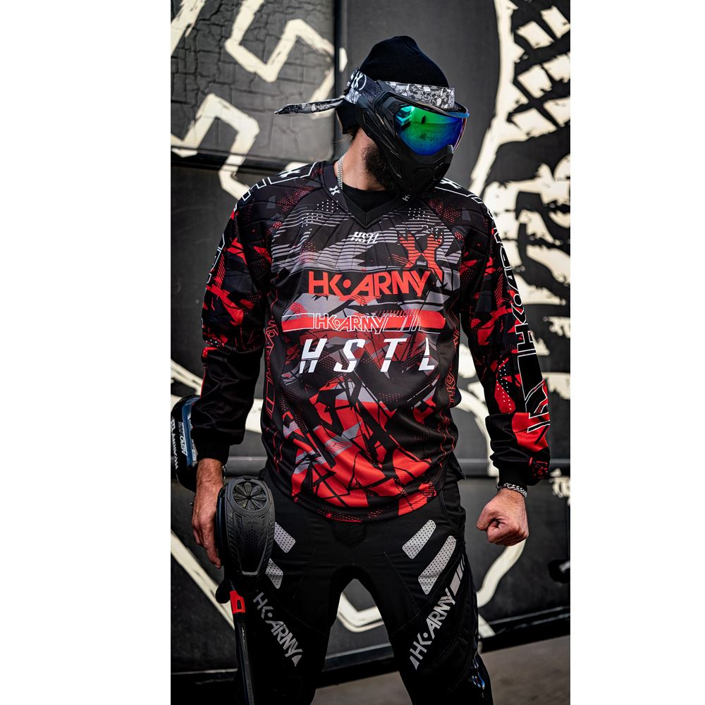 HK Army HSTL Line Paintball Jersey - Lava