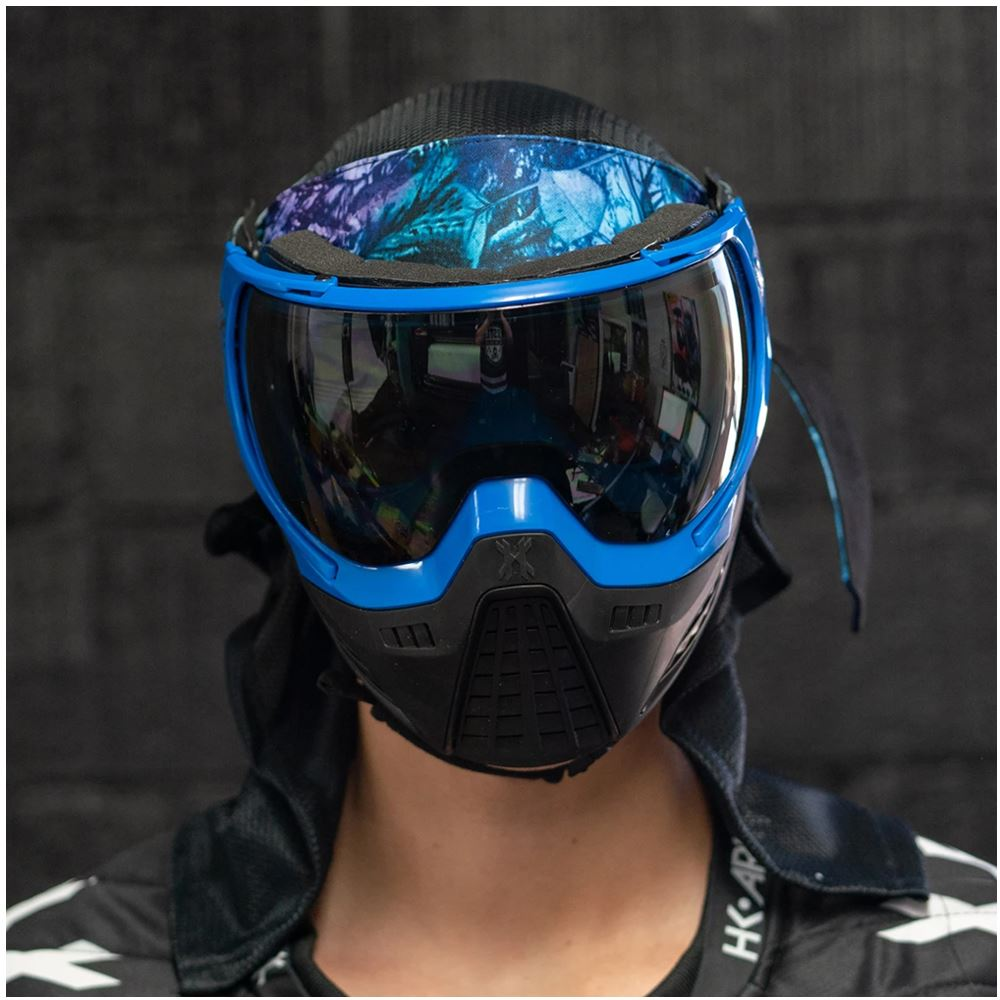 HK Army KLR Thermal Paintball Mask Goggle - Blackout Blue