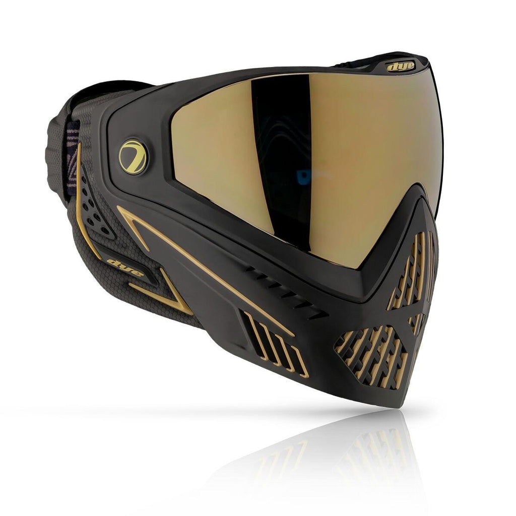 Dye i5 Paintball Goggles - Onyx Gold 2.0 - Black / Gold