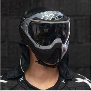 HK Army KLR Thermal Paintball Mask - Blackout Grey