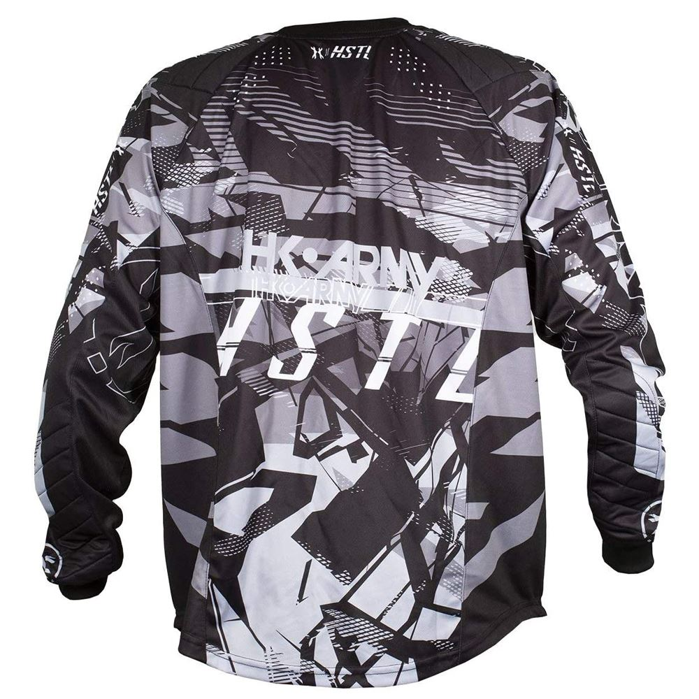 HK Army HSTL Line Paintball Jersey - Charcoal