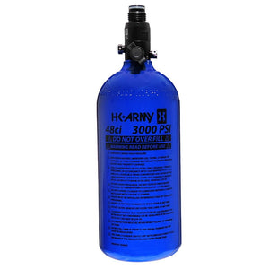 HK Army 48/3000 Aluminum Compressed Air HPA Paintball Tank - Blue