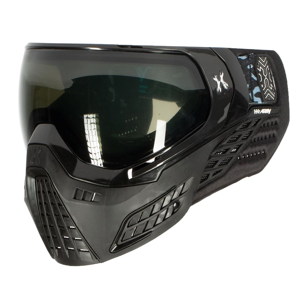 HK Army KLR Thermal Paintball Mask - Onyx Black / Black