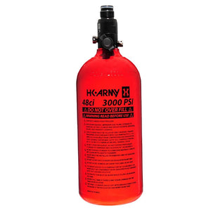 HK Army 48/3000 Aluminum Compressed Air HPA Paintball Tank - Red