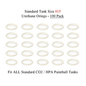 Maddog Paintball Urethane Tank O-rings (100 Pack)