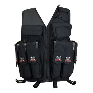 Maddog Paintball Attack Vest - Black