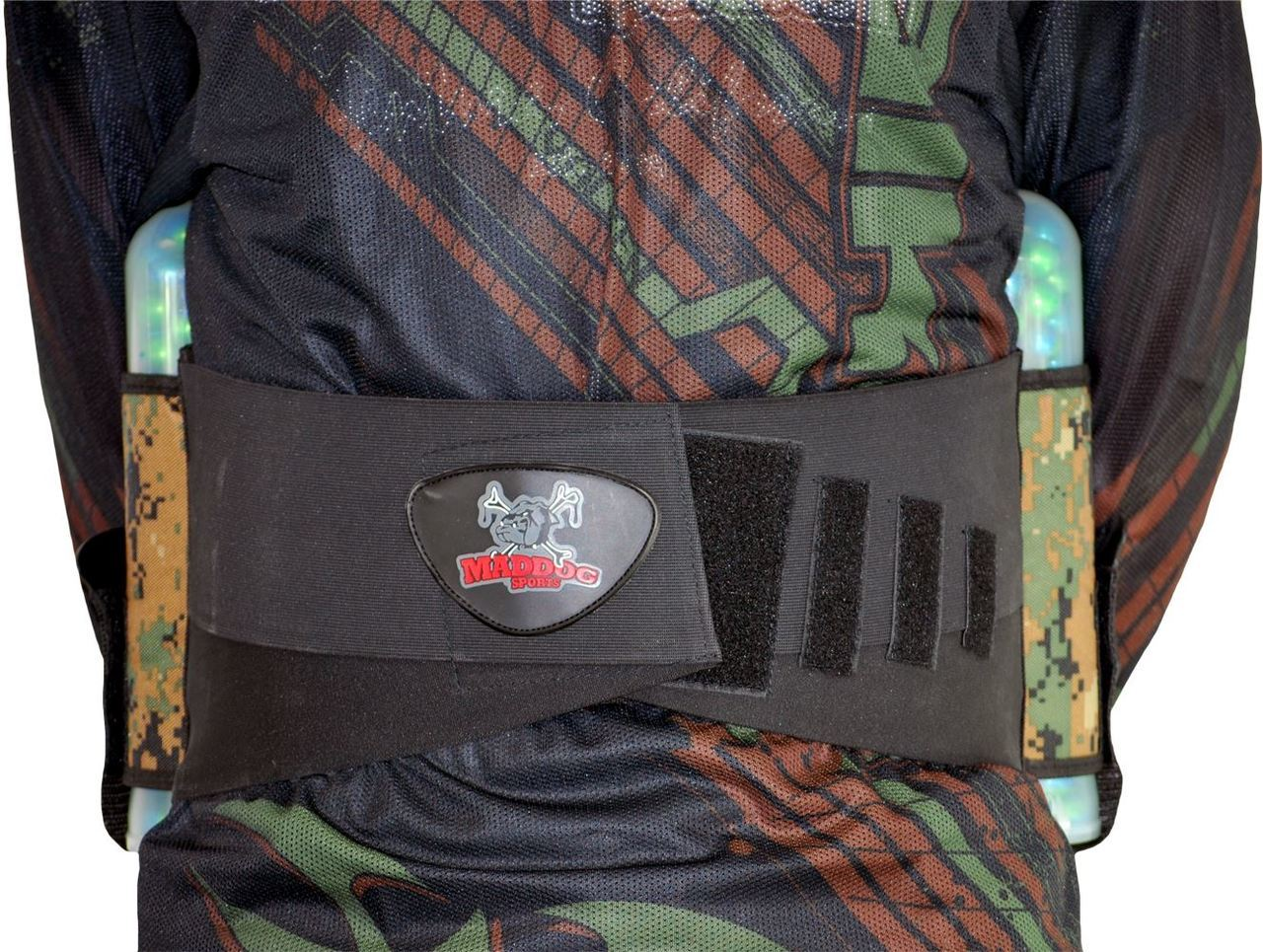 Maddog 4 Pod Vertical Paintball Harness
