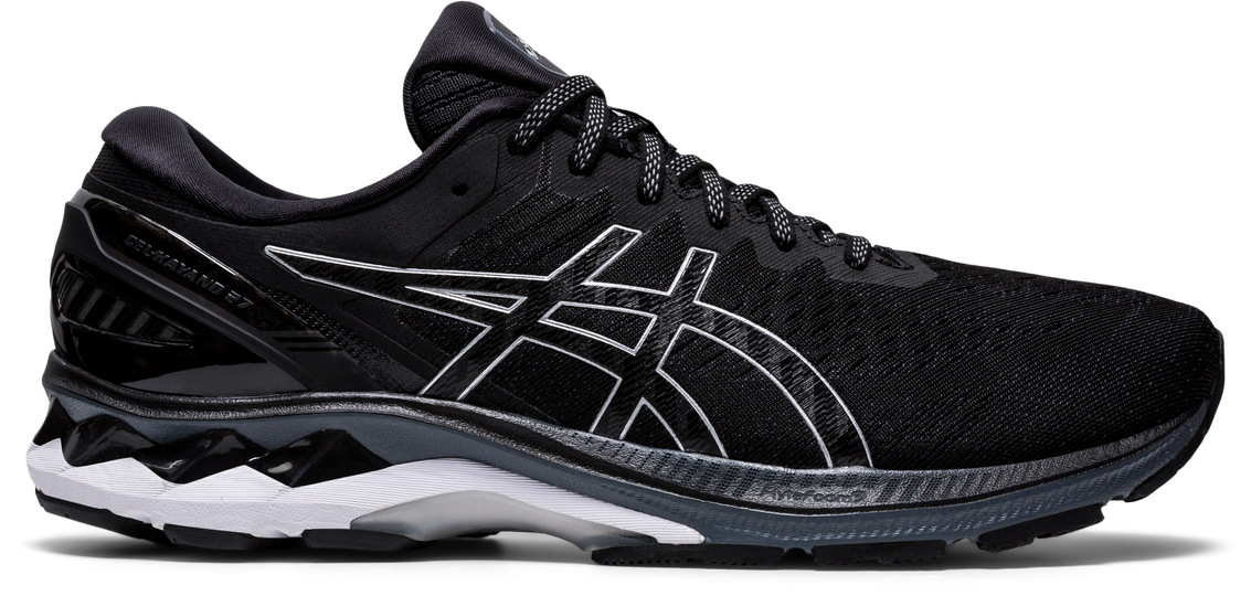 GEL-KAYANO 27 MEN (BLACK/PURE SILVER) - Asics