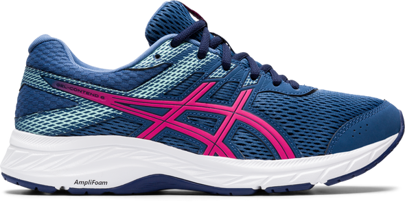 GEL-CONTEND 6 WOMEN (GRAND SHARK/PINK GLOW) - Asics