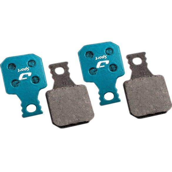 Jagwire Brake Pads Magura® MT7, MT5, MT Trail Front | Greenish-blue | Sport Organic