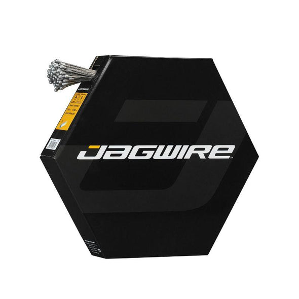 Jagwire Shift Inner Wire, Basics | 1.2mm Stainless | 2300mm | SRAM® / Shimano® | 100 pcs | Workshop Filebox