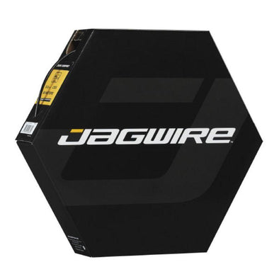 Jagwire Brake Housing, Shop Rolls | 5mm CEX Brake Housing | Black | 50 Meters | 1 box | Workshop Filebox