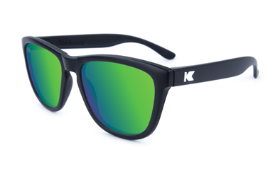 KNOCKAROUND - PREMIUM Black / Green Moonshine POLARIZADO