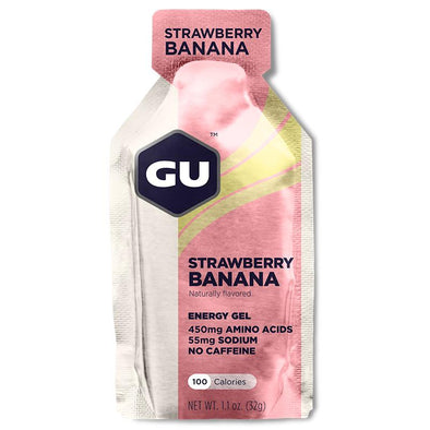 GU Energy Gel, Strawberry Banana