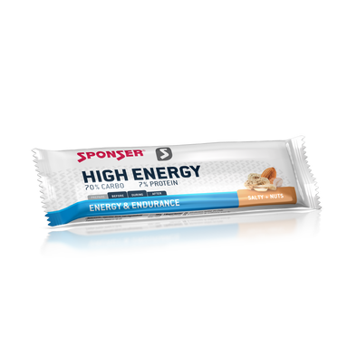 High Energy Salty + Nuts 70% Carbo 7% protein